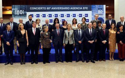 Concierto 80 Aniversario de la Agencia EFE