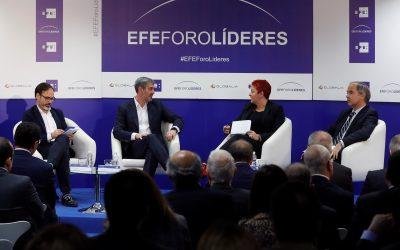 EFE Foro Líderes con el presidente Canario Fernando Clavijo