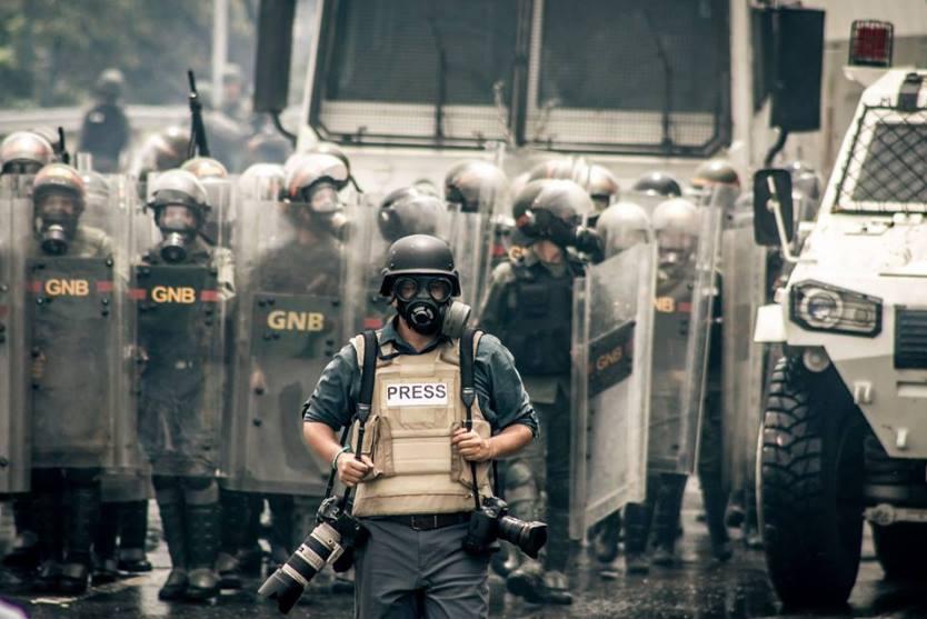 Miguel Gutiérrez: El fotoperiodismo en Venezuela es como practicar un deporte extremo