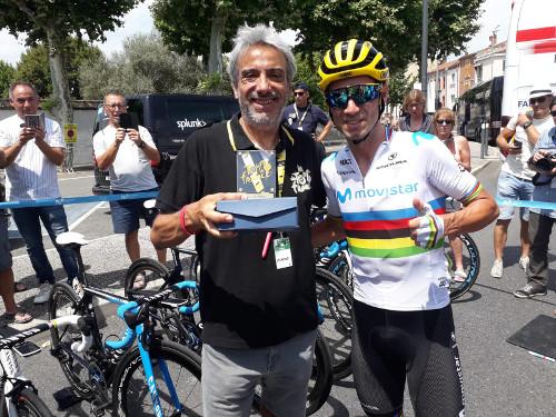 """Carlos de Torres, el segundo """"fiel"""" al Tour de EFE"""