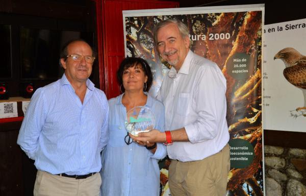 EFEverde, de EFE 360, recoge el Premio Natura 2000 de Comunicación