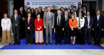 Los Premios de Periodismo Rey de España, nueva categoría y nuevos valores