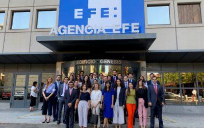 El Museo EFE ofreció visitas guiadas a 5.231 personas en el curso 2018-2019