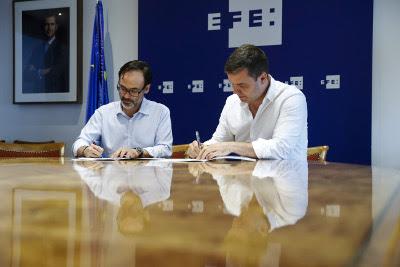 EFE y Narrativa firman un acuerdo para potenciar los contenidos basados en inteligencia artificial
