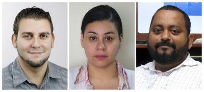 Costa Rica, El Salvador y Nicaragua estrenan delegados