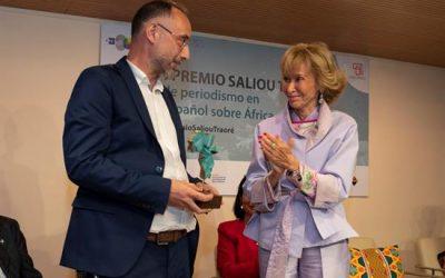 Las crónicas cotidianas de José Naranjo ganan el I Premio Saliou Traoré