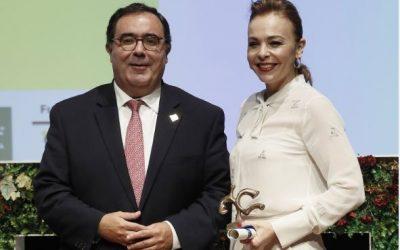 """Rocío Reinoso, galardonada con el premio """"Roma"""" por su trayectoria y lucha por la Mujer"""