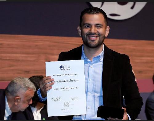 Ernesto Guzmán Ruiz, fotógrafo de EFE en Colombia, gana el Premio de Periodismo Simón Bolívar