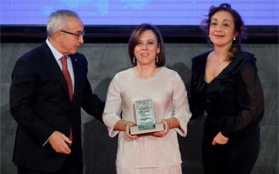 Natalia Arriaga, condecorada por el Comité Olímpico Español