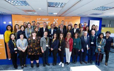 El seminario para periodistas asiáticos celebrado en EFE, un éxito