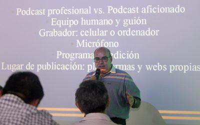 EFE ayuda a los periodistas y medios bolivianos a entender elpódcast