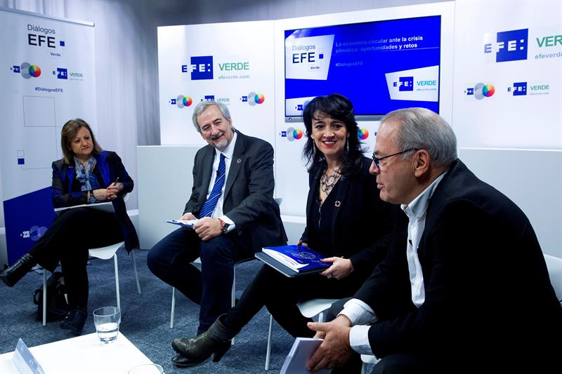 La economía circular ante la crisis climática en los Diálogos de EFEverde