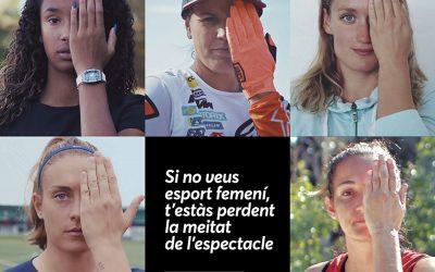 EFE se adhiere a una campaña en Cataluña para fomentar el deporte femenino en los medios