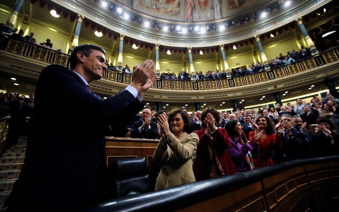 EFE se emplea a fondo y cosecha muchos éxitos en la investidura de Pedro Sánchez