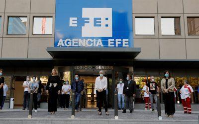La Agencia Efe se une al homenaje en silencio a las víctimas del coronavirus
