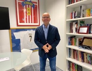 """Luis Villarejo: """"La pandemia nos permitió descubrir historias solidarias increíbles de nuestros deportistas"""""""