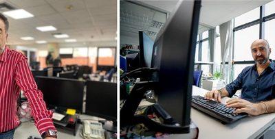 Las mesas de edición multimedia, órganos vitales de la Agencia EFE