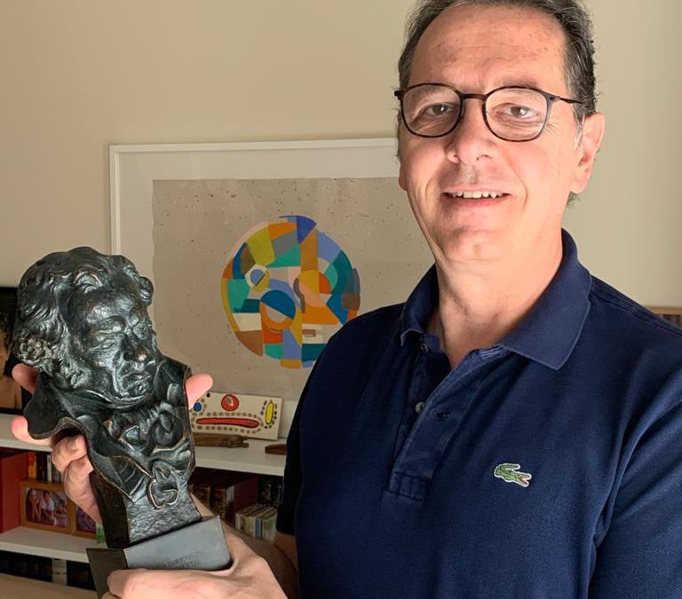 """""""Me gustaría contar mi experiencia con el Coronavirus en un cortometraje"""", dice Ramón Fontecha"""