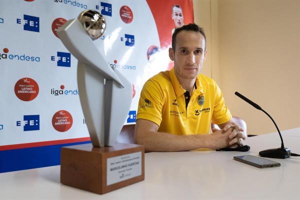 La ACB elogia el premio EFE a Marcelinho Huertas