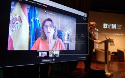 Teresa Ribera inaugura un BTM, organizado por EFE, que respalda al turismo español