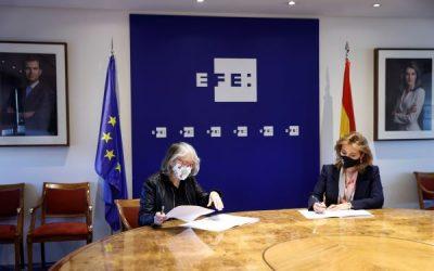 IESEK y EFE colaborarán en proyectos educativos sobre verificación e igualdad