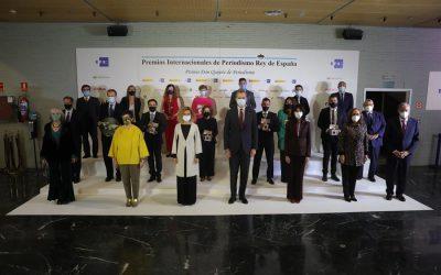 """Crece casi un 94 por ciento la """"audiencia potencial"""" que siguió los Premios Rey de España de Periodismo a través de Internet"""