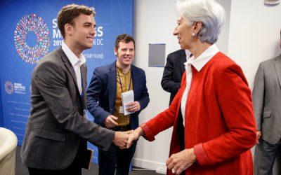 Alex Segura, reconocido por el FMI como uno de los mejores periodistas del mundo