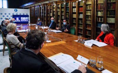 FundéuRAE presenta su nuevo proyecto a la reina Letizia