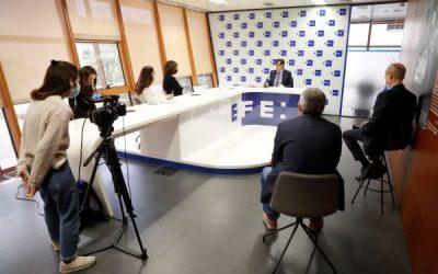 El ministro de Sanidad entrevistado por EFE en vísperas de las primeras vacunaciones