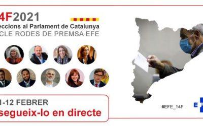 Los candidatos del 14-F en Catalunya, en Efe