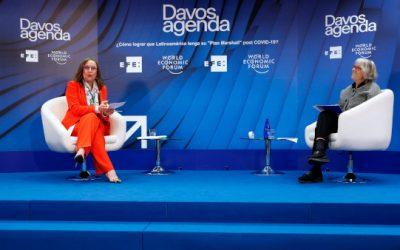 Gran acogida del I Foro de Davos virtual de EFE sobre la economía latinoamericana