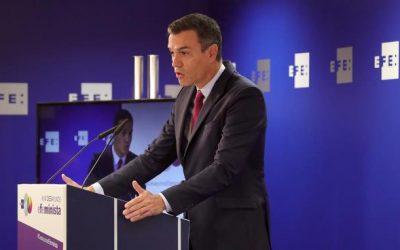 El presidente del Gobierno abre un ciclo de encuentros sobre los fondos europeos en EFE