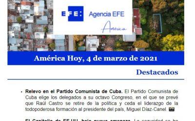 """EFE lanza su """"newsletter"""" para llegar al buzón de los clientes de América"""