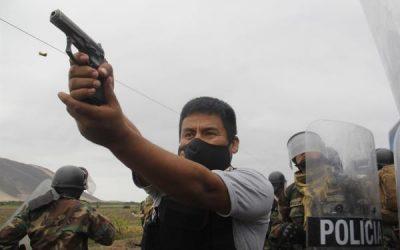 Una foto de Efe, el mejor trabajo periodístico del año en Perú