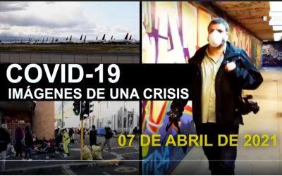 Las imágenes diarias de la pandemia: Efe luce músculo como gran proveedor mundial de vídeo