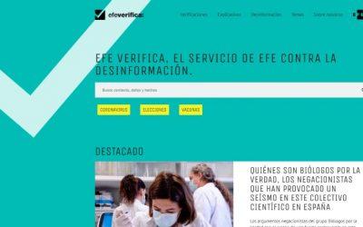 EFE Verifica estrena web