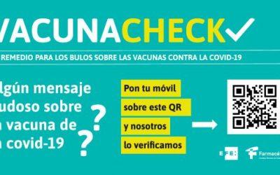 EFE y las farmacias españolas se unen para combatir los bulos antivacunas