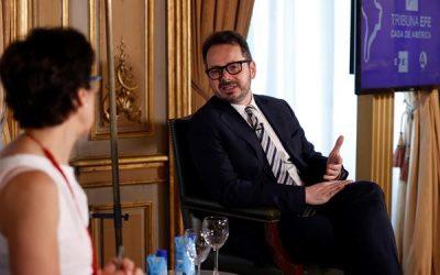 Tribuna Efe-Casa de América: La seguridad es una prioridad en Colombia, según el representante de la ONU