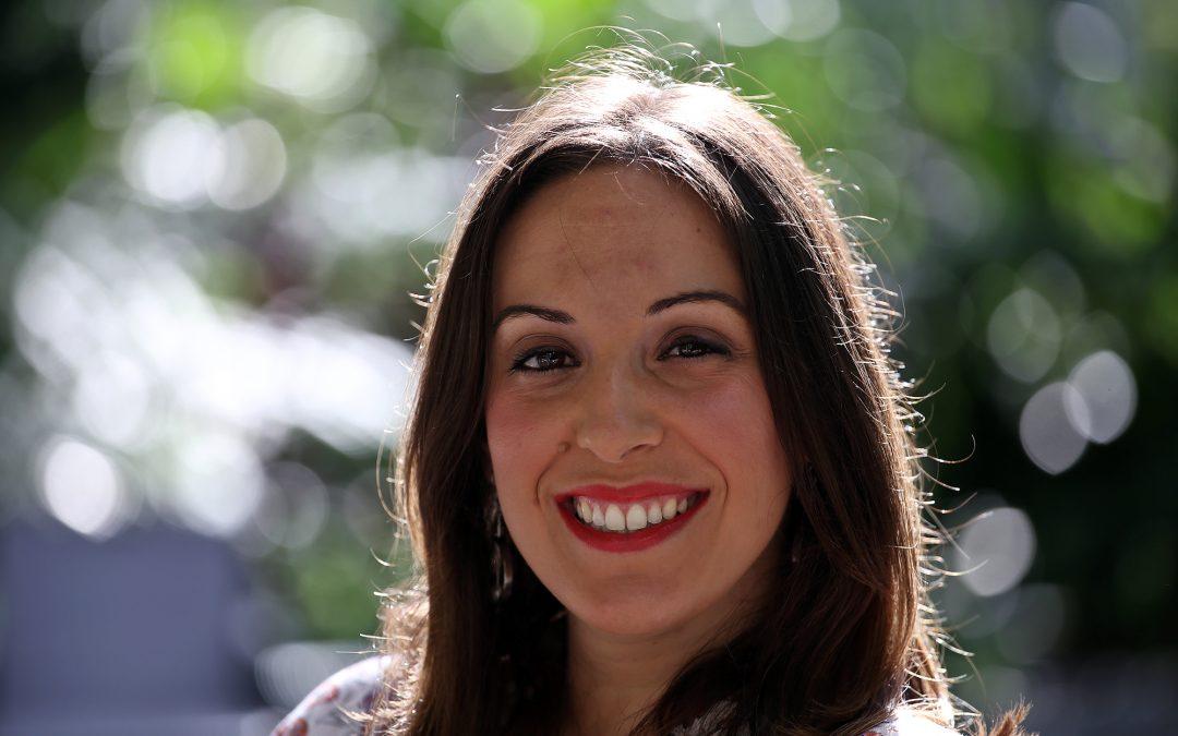 Sara Gómez Armas, delegada de Israel y Territorios Palestinos.