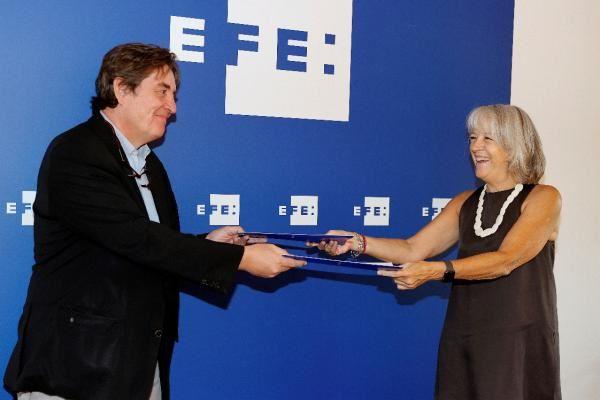 Instituto Cervantes EFE colaboración español