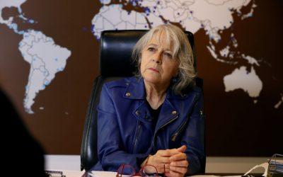 Gabriela Cañas, a favor de mantener la presión económica contra los talibanes