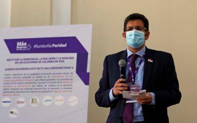 EFE se suma al pacto por la democracia paritaria en Colombia