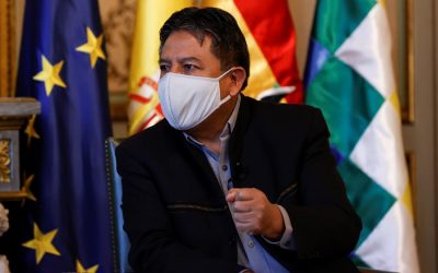 """El vicepresidente de Bolivia critica a los medios y al silencio internacional ante el """"golpe"""", en la Tribuna EFE-Casa América"""